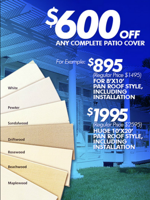 San Diegou0027s Leading Patio Cover Contractors For Quality Work And Unbeatable  Pricing !